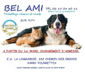 """BEL AM TOILETTAGE"" Tourrettes"